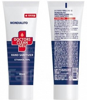 Санитайзер Mondialito Doctors Clean Gel Hand Sanitizer