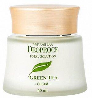 "Крем с зеленым чаем PREMIUM DEOPROCE GREEN TEA TOTAL SOLUTION CREAM """