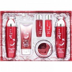 DAANDANBIT PREMIUM RED GINSENG 4 SET Уходовый набор с экстрактом красного женьшеня