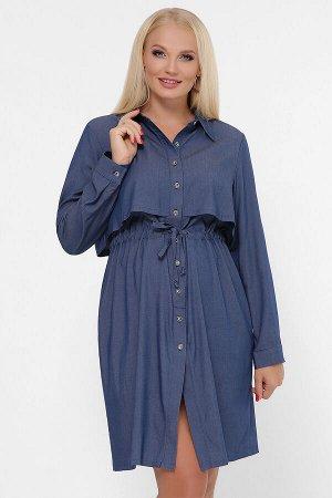 0301 Платье-рубашка