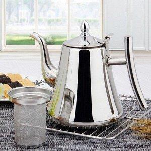 Чайник заварочный из нержавеющей стали Classy Pot, 2л (КН-3228)