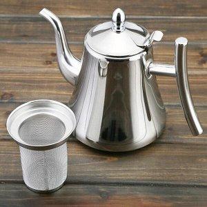 Чайник заварочный из нержавеющей стали Classy Pot, 1л (КН-3226)