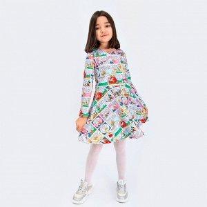 Платье Соль&Перец для девочки/Цвет: комбинированный