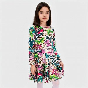 Платье Соль&Перец подростковое для девочки Цвет: кремовый