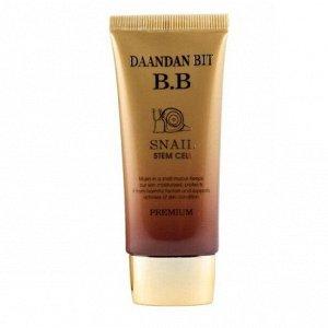 Многофункциональный ББ крем DAANDANBIT Premium Snail Stem Cell Herbal Sun BB Cream SPF 40(РА++)