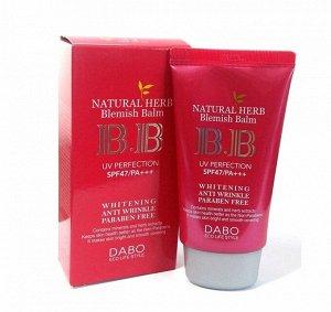 Многофункциональный ВВ крем Dabo Natural Herb BB Cream SPF47/PA+++, 50ml