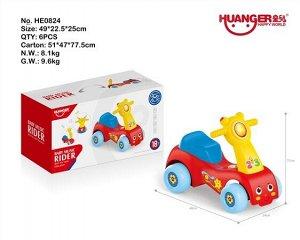 Автомобиль для катания детей (Толокар) OBL807086 HE0824 (1/6)