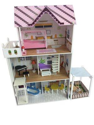 Деревянные игрушки: Кукольный дом ТХ1195 (1/1)