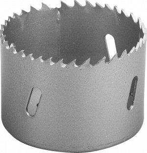 ЗУБР 60мм ЗУБР 60мм, коронка биметаллическая, быстрорежущая сталь