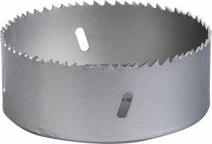 ЗУБР 105мм ЗУБР 105мм, коронка биметаллическая, быстрорежущая сталь