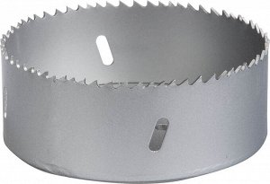 ЗУБР 114мм ЗУБР 114мм, коронка биметаллическая, быстрорежущая сталь