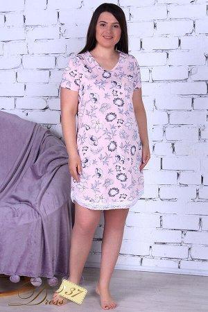 Сорочка женская «Александра» персиковая