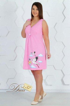 Сорочка женская «Анжелика» розовая