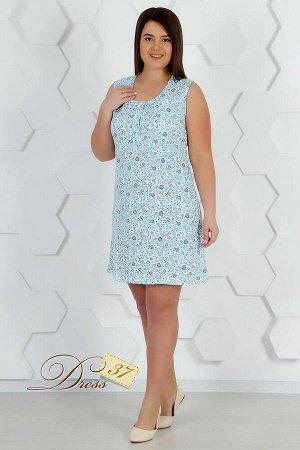 Сорочка женская «Марта» голубая