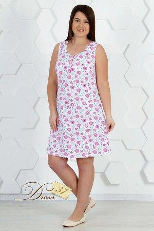 Сорочка женская «Марта» розовая