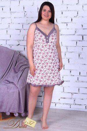 Сорочка женская «Лекси» розовая