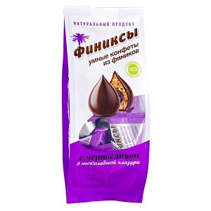 Конфеты Финиксы с Черносливом в Шоколадной Глазури 180 г