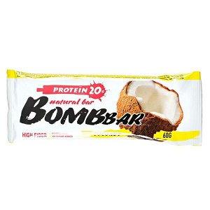 Батончик Bombbar протеиновый COCONUT 60 г