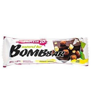 Батончик Bombbar протеиновый CHOCOLATE-HAZELNUT 60 г