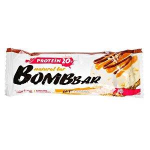 Батончик Bombbar протеиновый SALTY CARAMEL 60 г