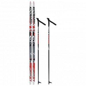 Комплект лыжный БРЕНД ЦСТ 160/120 (+/-5 см), крепление NNN, цвет МИКС