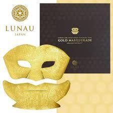 Маска для лица из чистого золота 24 К Маскарад HAKUICHI Kinka Gold Masquerade