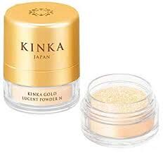 KINKA Пудра золотая для лица
