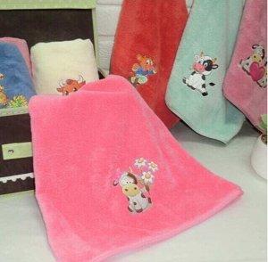 Подарочное полотенце 35*75 см