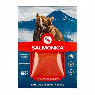 """Мороженое """"Полярник"""" в подарок — SALMONICA Рыбка подкопчённая, малосолёная — Соленые и копченые"""