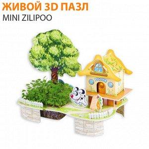 "Живой 3D пазл Mini Zilipoo ""Дом-полная чаша"""