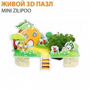 """Живой 3D пазл Mini Zilipoo """"Тыквенный домик"""""""