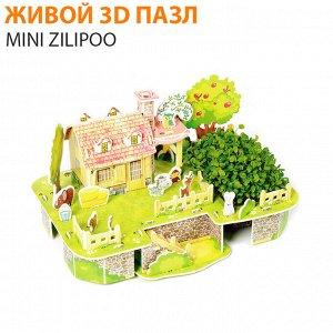 """Живой 3D пазл Mini Zilipoo """"Веселый дом друзей"""""""
