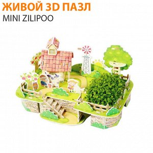"""Живой 3D пазл Mini Zilipoo """"Моя чудесная ферма"""""""