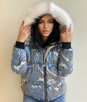 Куртка Зима, серый