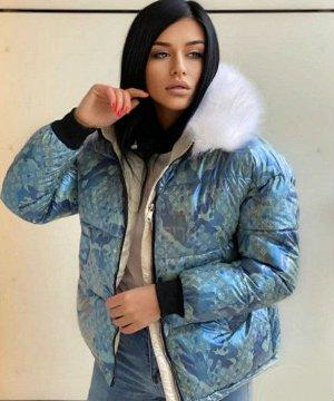 Куртка, голубой