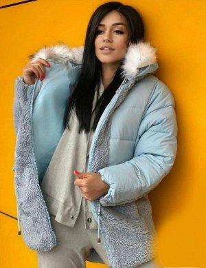 Куртка Зима, Голубой