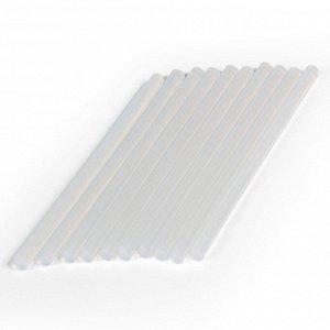 Стержни клеевые для кл. пистолета D=11.2мм x 200мм, EVA, прозр., 10 шт,Smartbuy tools(SBT-GGG-10)/80