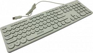 Клавиатура с подсветкой SmartBuy 328  ONE USB белая (SBK-328U-W)/20