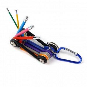 Набор велосипедный 9 шт, 2 отв.:SL5;PH2,HEX:2,2.5,3,4,5,6,TORX:30 CR-V,Smartbuy tools(SBT-MTS-9)/80