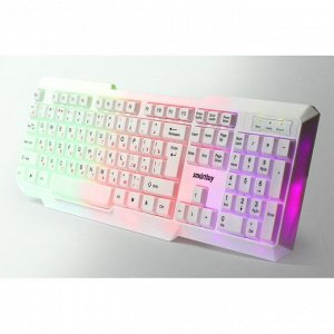 Клавиатура с подсветкой Smartbuy 333 ONE USB белая (SBK-333U-W)/20