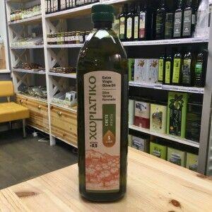 Оливковое масло хориатико крит, пласт.бут., 1л