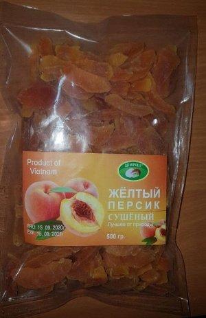 """Персик желтый сушеный Вьетнам """"Ширин"""", 500 гр"""