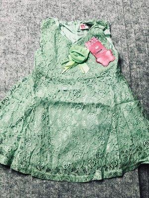 Праздничное платье,зеленое.