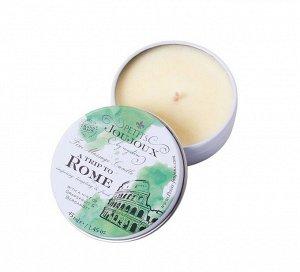Массажная свеча Petits JouJoux Mini Rome с ароматом грейпфрута и бергамота (43 мл) БЕЗ КРЫШКИ