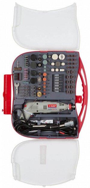 Гравер ЗУБР электрический с набором мини-насадок в кейсе