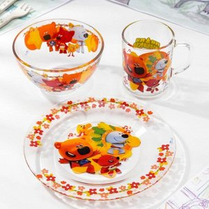Набор посуды «Ми-Ми-Мишки. Неуловимая команда» 3 предмета