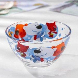 Набор посуды «Ми-Ми-Мишки. Путешествие на шаре», 3 предмета