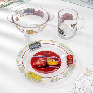 Набор посуды детский «Тачки 3», 3 предмета