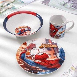 Набор посуды «Человек-паук. Улицы», 3 предмета