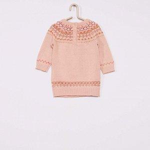 Платье и легинсы - розовый